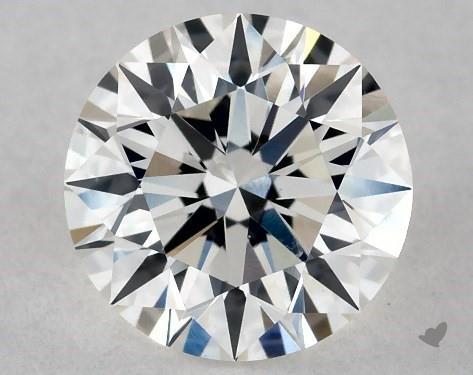0.73 Carat H-SI1 Excellent Cut Round Diamond
