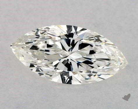 0.73 Carat H-VS2 Marquise Cut Diamond