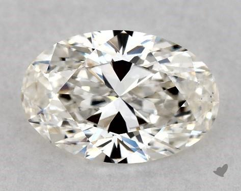 0.71 Carat H-VS2 Oval Cut Diamond