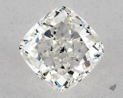 1.03 Carat H-SI1 Cushion Modified Cut Diamond