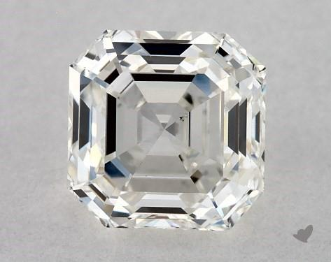 0.72 Carat I-VS2 Square Emerald Cut Diamond