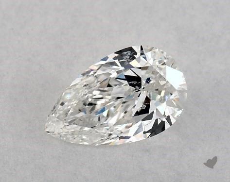 0.50 Carat E-I1 Pear Shape Diamond