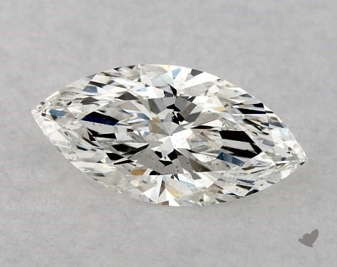 0.52 Carat F-SI1 Marquise Cut Diamond