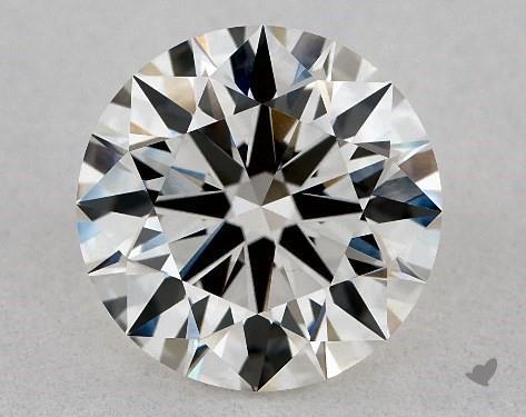 Lab-Created 2.04 Carat H-VVS2 Excellent Cut Round Diamond