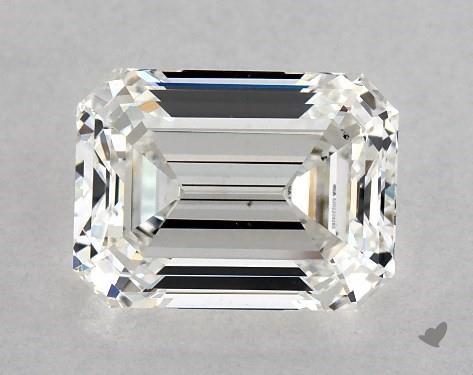 1.81 Carat H-VS2 Emerald Cut Diamond