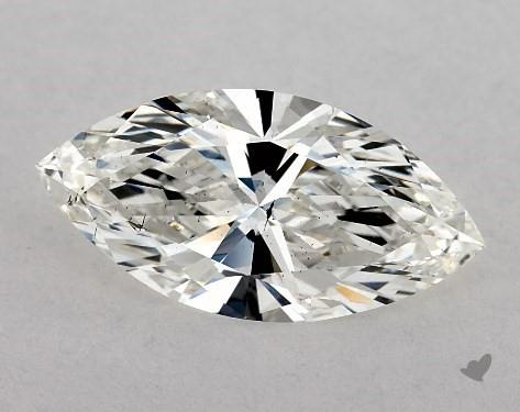 1.21 Carat H-SI1 Marquise Cut Diamond