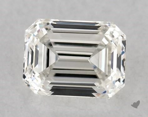 <b>0.53</b> Carat I-VVS1 Emerald Cut Diamond