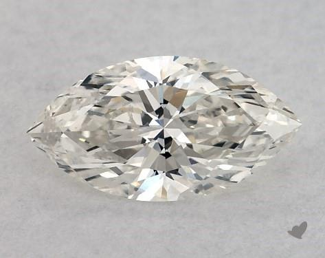 0.52 Carat H-SI1 Marquise Cut Diamond