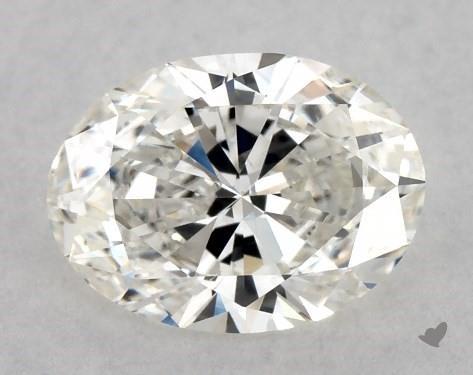 0.84 Carat H-VS2 Oval Cut Diamond