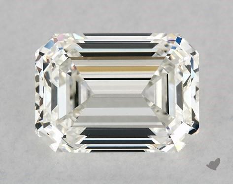 1.50 Carat H-VS1 Emerald Cut Diamond