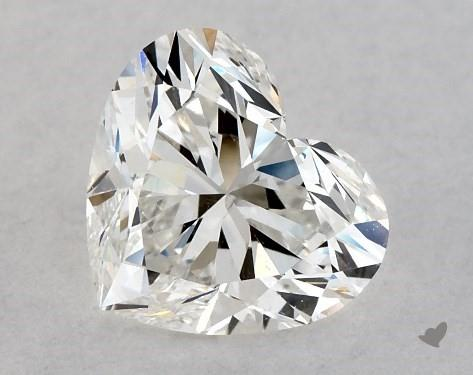 1.03 Carat H-SI1 Heart Shape Diamond