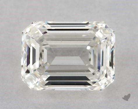 0.91 Carat H-SI1 Emerald Cut Diamond