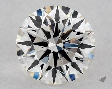 Lab-Created 1.15 Carat H-VS1 Excellent Cut Round Diamond