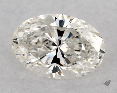 0.80 Carat H-VS2 Oval Cut Diamond