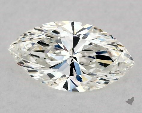 0.70 Carat H-SI1 Marquise Cut Diamond