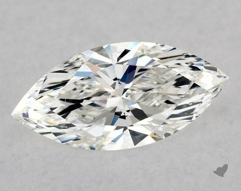 0.76 Carat H-VS2 Marquise Cut Diamond