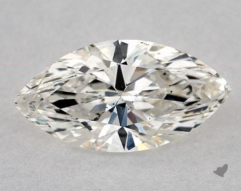 1.02 Carat H-SI1 Marquise Cut Diamond