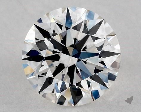 Lab-Created 1.15 Carat H-VS1 Ideal Cut Round Diamond