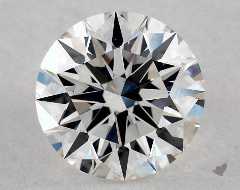 Lab-Created 1.17 Carat I-VS2 Ideal Cut Round Diamond