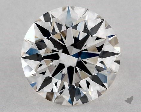 Lab-Created 1.17 Carat H-VS1 Ideal Cut Round Diamond
