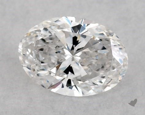 <b>0.43</b> Carat E-SI1 Oval Cut Diamond