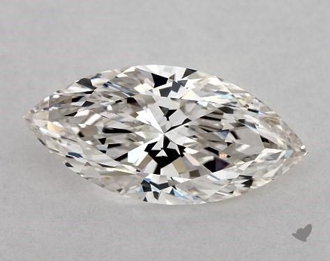 0.91 Carat H-VS1 Marquise Cut Diamond