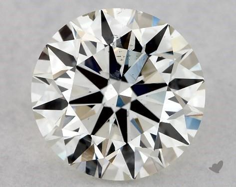 1.00 Carat H-SI1 Excellent Cut Round Diamond