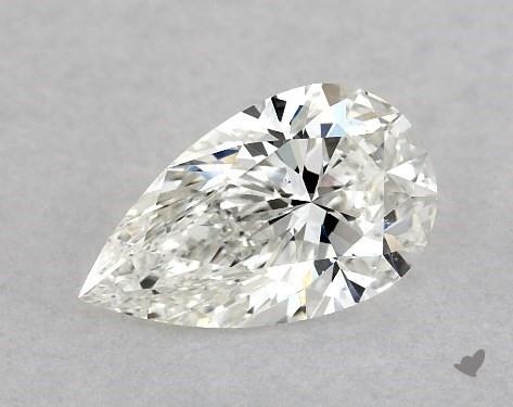 1.01 Carat H-SI1 Pear Shape Diamond