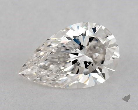 1.10 Carat H-VS2 Pear Shape Diamond