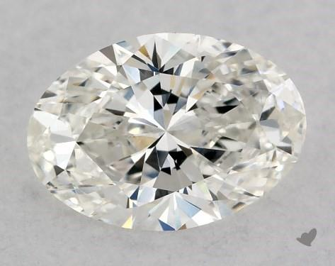 0.72 Carat G-VS1 Oval Cut Diamond