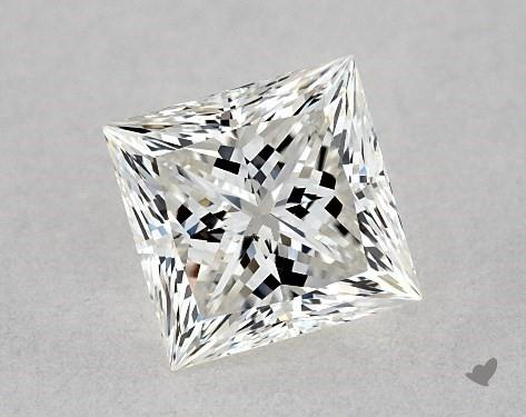 0.73 Carat H-VS2 Ideal Cut Princess Diamond