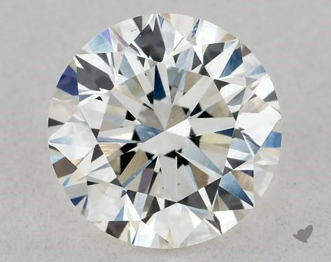Lab-Created 0.80 Carat I-VS2 Excellent Cut Round Diamond