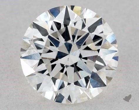 Lab-Created 0.80 Carat H-VS2 Ideal Cut Round Diamond