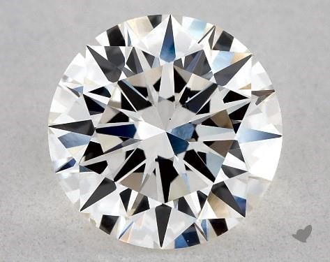 Lab-Created 1.23 Carat I-VS2 Excellent Cut Round Diamond