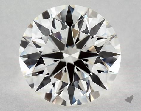Lab-Created 3.56 Carat H-VS2 Excellent Cut Round Diamond