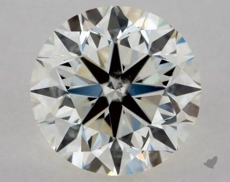 0.70 Carat K-SI2 Very Good Cut Round Diamond