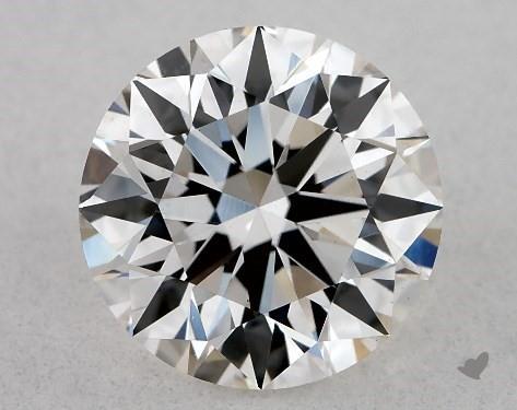 Lab-Created 1.15 Carat H-VS1 Excellent Cut Round Diamond