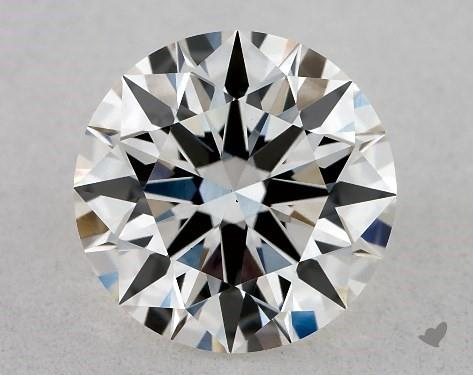 Lab-Created 1.14 Carat H-VS1 Ideal Cut Round Diamond