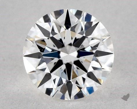 Lab-Created 1.16 Carat H-VS2 Ideal Cut Round Diamond