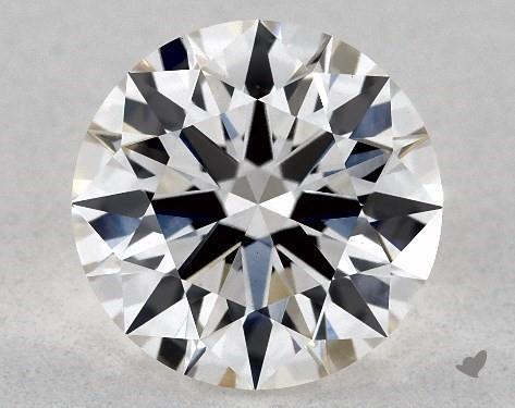 Lab-Created 1.17 Carat H-VS1 Ideal Cut Round Diamond
