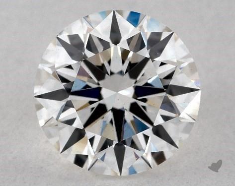 Lab-Created 1.38 Carat H-VS2 Ideal Cut Round Diamond