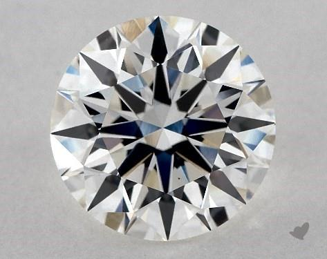 Lab-Created 3.88 Carat H-VS1 Ideal Cut Round Diamond
