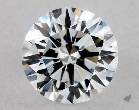 Lab-Created 1.01 Carat E-SI1 Excellent Cut Round Diamond