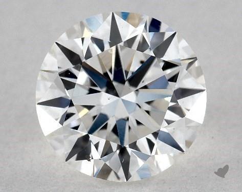 1.00 Carat F-SI1 True Hearts<sup>TM</sup> Ideal Diamond