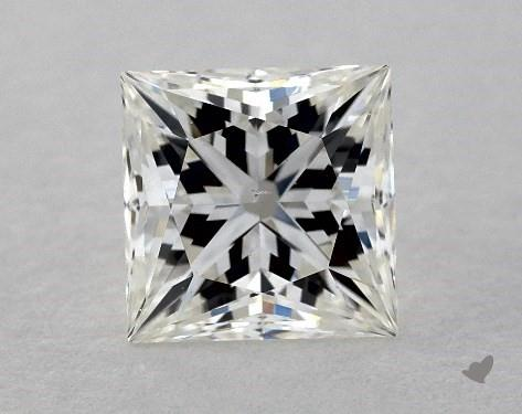 0.71 Carat H-VS2 Ideal Cut Princess Diamond