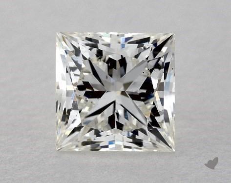 0.79 Carat H-VS2 Ideal Cut Princess Diamond