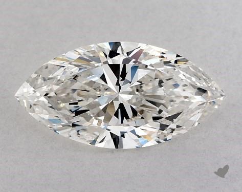 0.85 Carat H-VS1 Marquise Cut Diamond