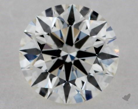 0.71 Carat I-VS2 True Hearts<sup>TM</sup> Ideal Diamond