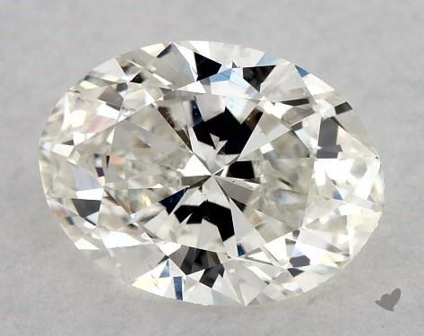 0.72 Carat H-VS2 Oval Cut Diamond