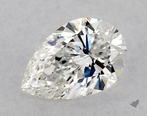 1.09 Carat H-VS2 Pear Shape Diamond